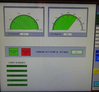 New Digital Control Screen